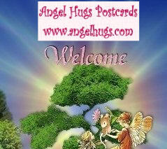 Angel Hugs Postcards